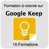 Formez-vous sur Google Keep