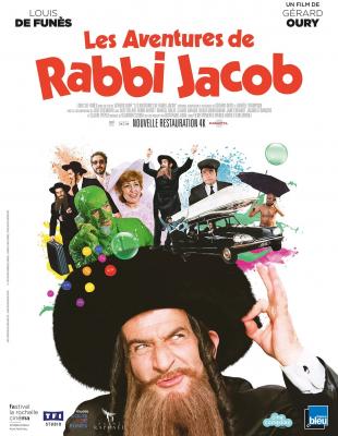 """Résultat de recherche d'images pour """"les aventures de rabbi jacob film"""""""