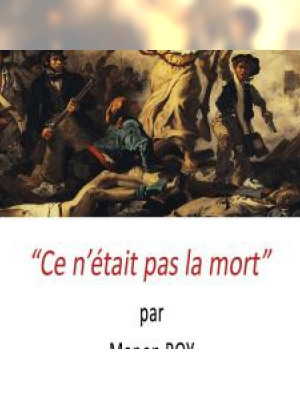 Ce n'était pas la mort par Manon Roy